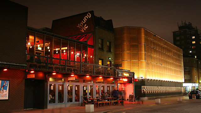 Our names in lights? There's a chance to appear at the Young Vic theatre in Waterloo this summer.