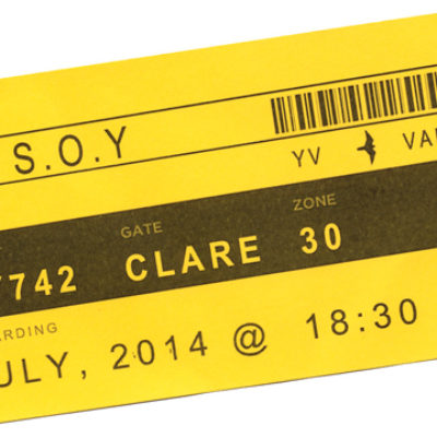 Young Vic-Kairos-Sound of Yellow ticket