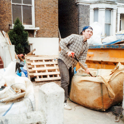 20 years ago: a volunteer at 22 Linden Grove.