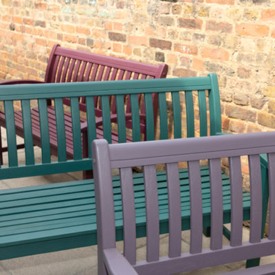 Kairos Benches by Recovery Shed