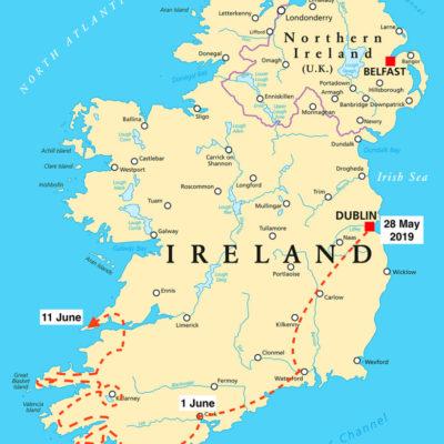 Brendan McGill's Irish Odyssey, a round-Ireland bike ride