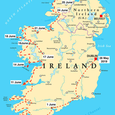 Brendan McGill's Irish Odyessy week 4