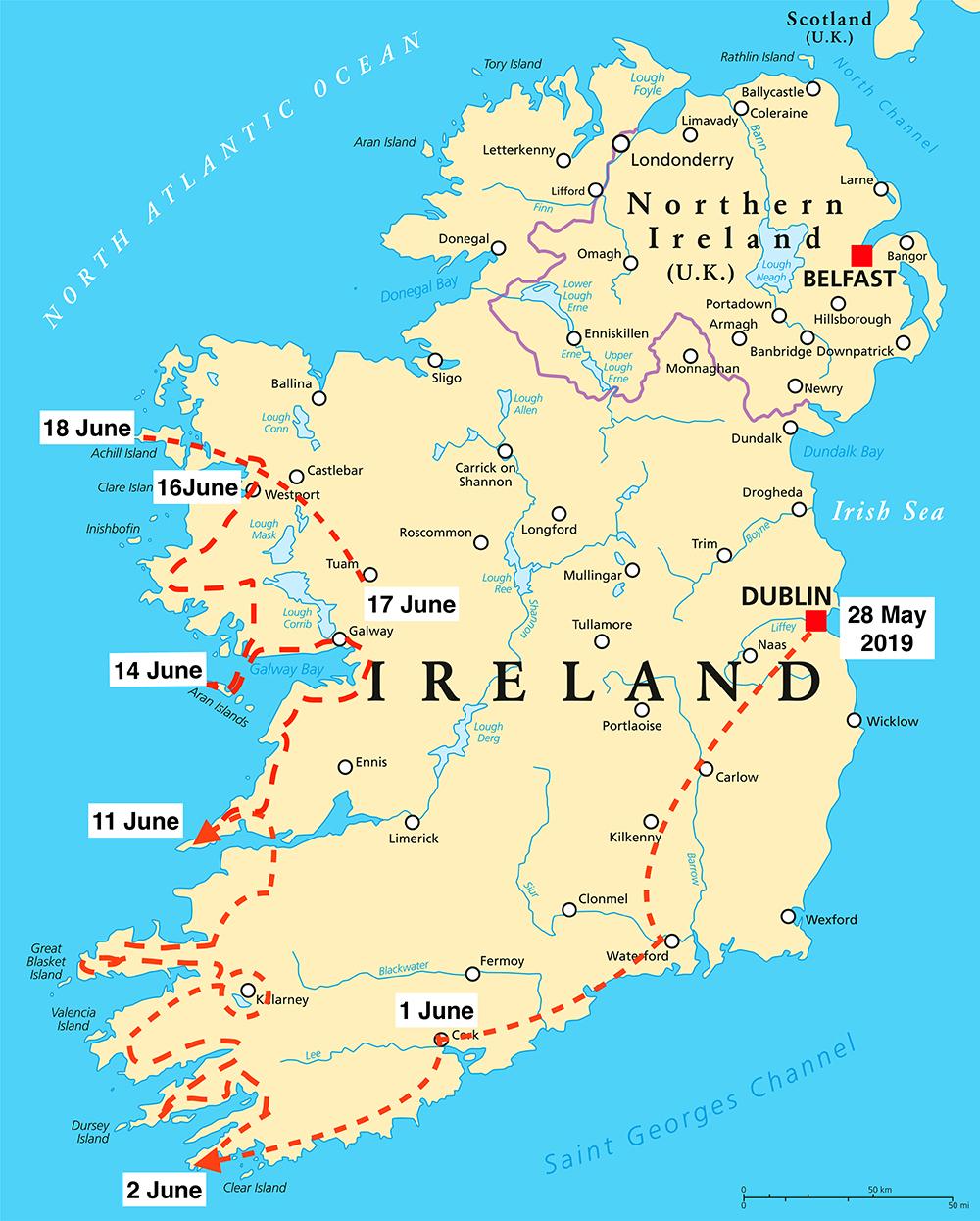 Brendan McGill - his Irish Odyssey week 3