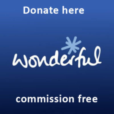 Wonderful online giving button