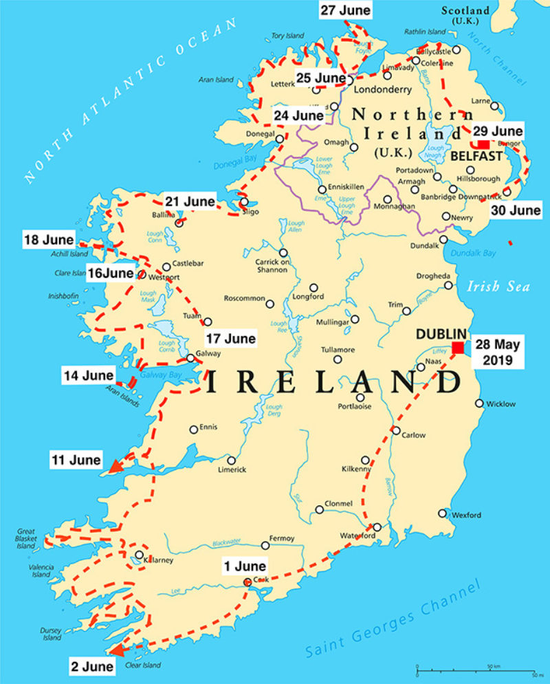 Brendan McGill's Irish Odyssey Week 5