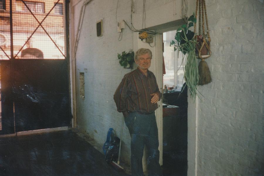 w Stonhouse Fr John standing