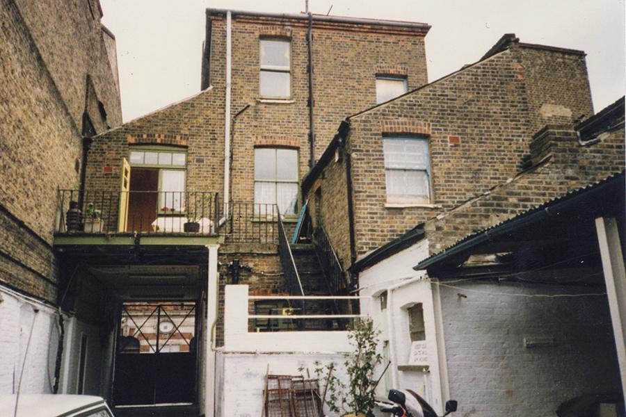 w Stonhouse jard