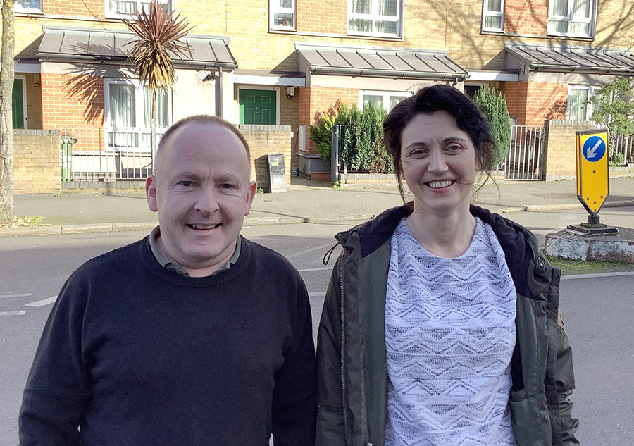 Kairos's Maudsley Charity support workers