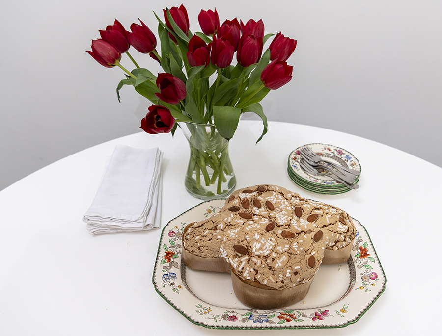 Colomba di Pasqua – 'Easter dove' – is a traditional Italian Easter cake, first made in Milan.