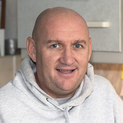 Frank McDonald Kairos support worker for ex-offenders