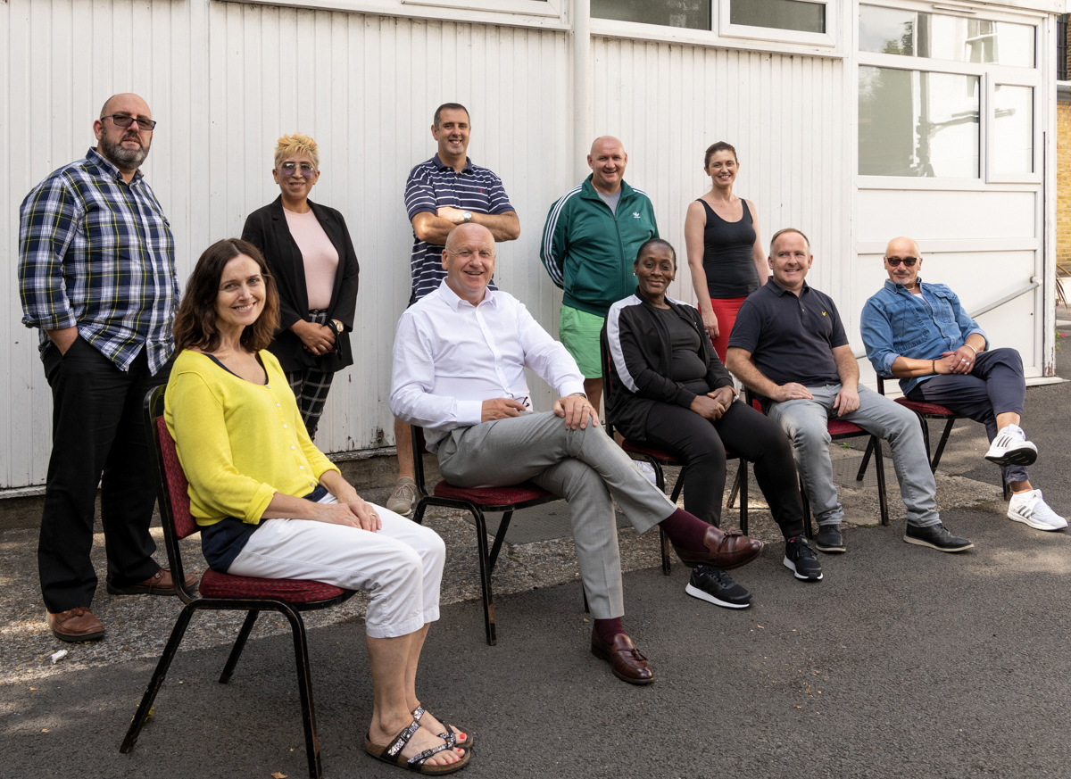 Kairos Supported Housing Move-on team, 2019.