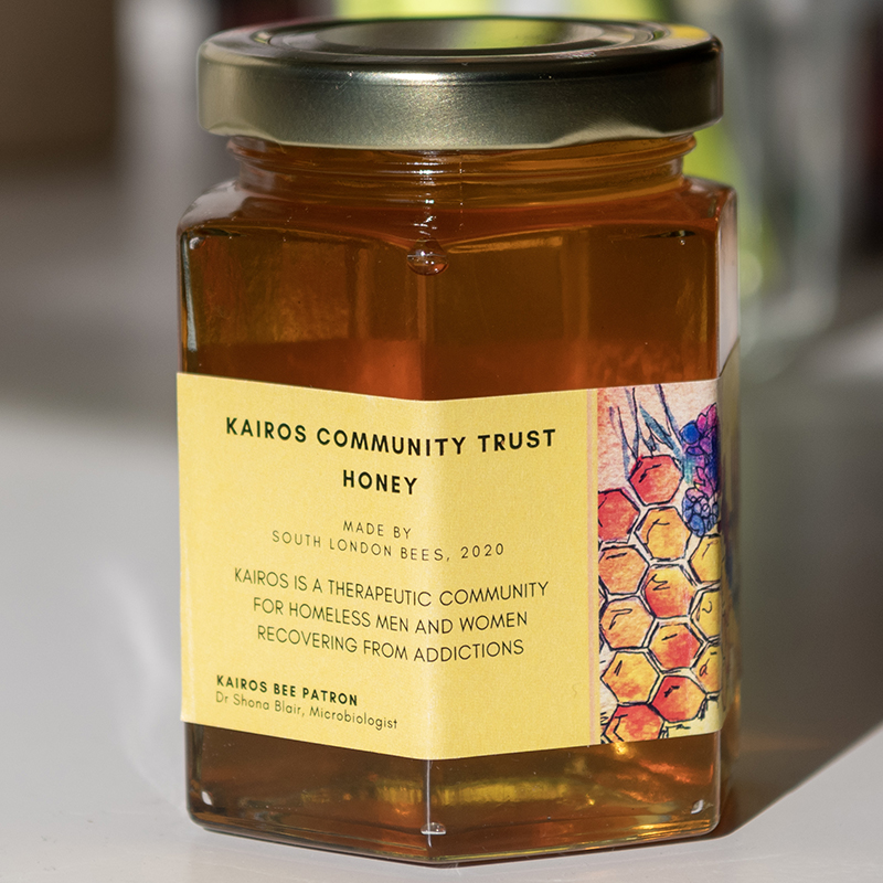 Kairos Community Trust honey made by south London bees