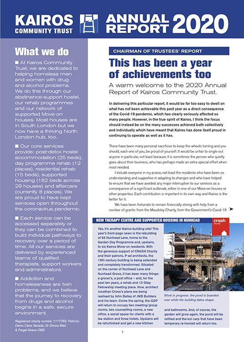 2020 Kairos Annual Report