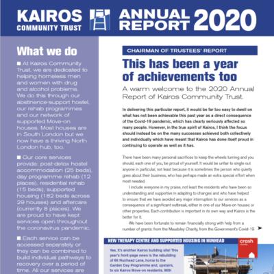 fi2 2020 Kairos Annual Report