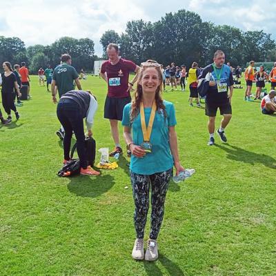 Laura half-marathon